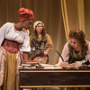 Jada Suzanne Dixon, Maire Higgins, and Rebecca Remaly in The Revolutionists by Lauren Gunderson (photo: Michael Ensminger)