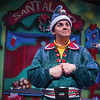 Michael Bouchard stars in BETC and Off-Center's co-production of The SantaLand Diaries by David Sedaries (photo courtesy of DCPA).