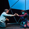 Michael Morgan and Alex Rosenthal in BETC's production of THE CURIOUS INCIDENT OF THE DOG IN THE NIGHT-TIME (photography: Michael Ensminger)