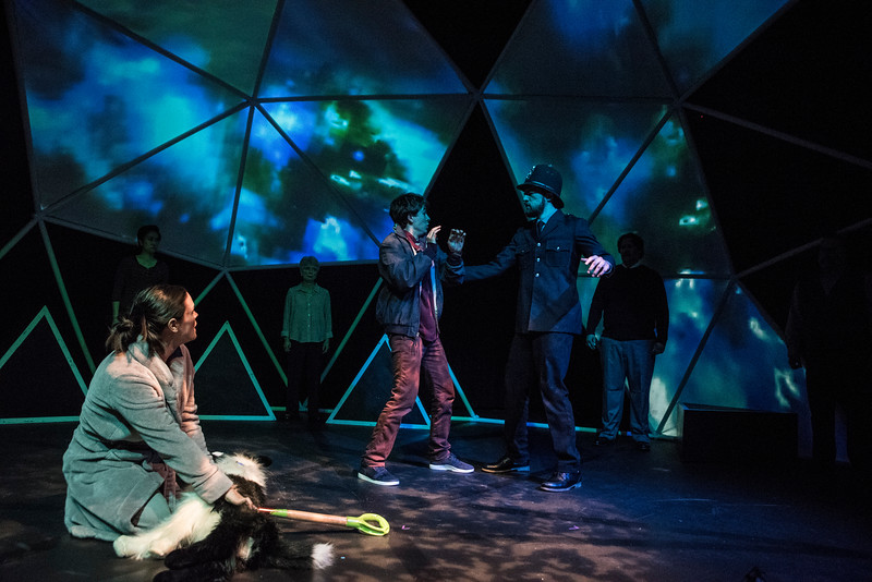 BETC's production of THE CURIOUS INCIDENT OF THE DOG IN THE NIGHT-TIME (photography: Michael Ensminger)