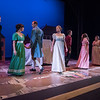 The cast of BETC's regional premiere of Jane Austen's Pride and Prejudice by Kate Hamill (photography: Michael Ensminger)