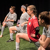 The cast BETC's production of The Wolves (photography: Michael Ensminger)