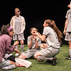 The cast of BETC's production of The Wolves (photography: Michael Ensminger)