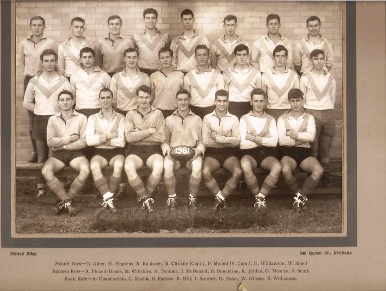 Sydney University 1961
