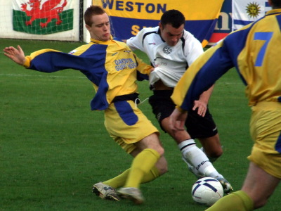 <CENTER>Lewis Baillie v Weston Super Mare</CENTER>