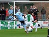 <CENTER>Anthony Thomas hits the woodwork</CENTER>