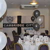 <CENTER>The Cambridge City flag proudly on display</CENTER>
