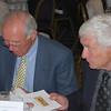 <CENTER>Legends from yesteryear, Frank Cruickshank and Reg Pearce sign autographs</CENTER>