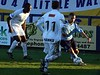 <CENTER>Two Havant players close in on Lee Roache</CENTER>