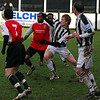 <CENTER>Gash takes on three defenders</CENTER>