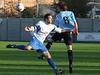 <CENTER>Josh Simpson heads upfield</CENTER>