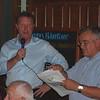 <CENTER>Gary Roberts and Centenary quizmaster Terry Dunn</CENTER>