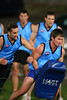 SYDNEY, AUSTRALIA - JULY 01: Sydney AFL Representative side train at Henson Park in preperation for their clash with Canberra AFL in late July on Wednesday July 01, 2009. (Photo by Michael Vettas/SAFLPhotos.com.au)