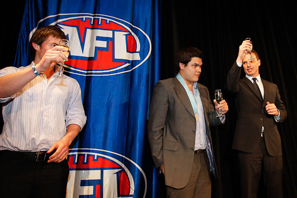 SYDNEY, AUSTRALIA - September 13: Sydney AFL Clubs from all divisions come together for the Phelan Medal night for the Sydney AFL Competition at Dalton House on Monday September 13, 2010 in Sydney, Australia. (Photo by Michael Vettas/SAFLPhotos.com.au)