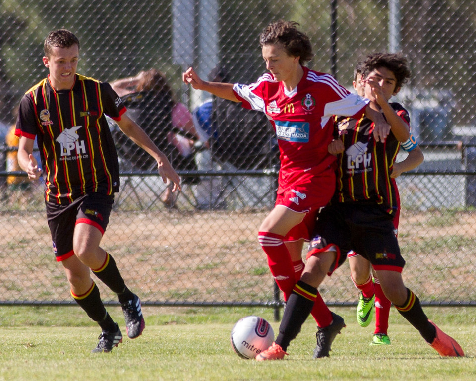 Game 3: Campbelltown City 1, MetroStars 0.  On to the Quarter Finals...