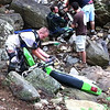 Kenda Tennessee Knockout - Alex from the Trials Training Center nearing the end of the rock garden.