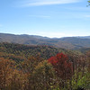 ADV Old Skool Fall Rally: Fall colors from the Cherohala.