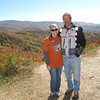 ADV Old Skool Fall Rally: Jenny and Ken on the Cherohala