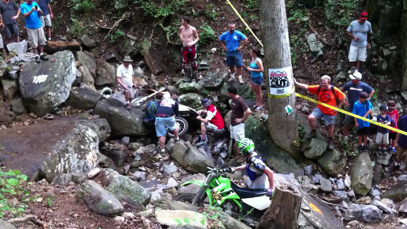 Kenda Tennessee Knockout - Mayhem in the rock garden. That's Alex from the TTC on (well, near) the KDX200