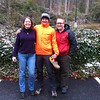 Me, Laura and Lacinda. They're stuck at Fontana (snow) while through-hiking the AT so I took them into town for a respite day. 03/25/13
