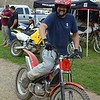 March Moto Madness 2015: Francois poses on his trials bike