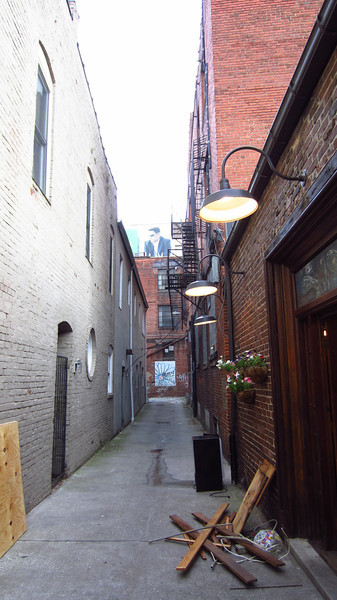 An alley in Knoxville, 06/01/12