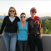 Me, Leighann Word and Lori Cannon at Look Rock tower during the transit of Venus.