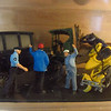 Richard Webb's birthday party, 05/27/12. This is a tiny diorama in the master bathroom.