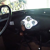 Richard Webb's birthday party, 05/27/12. Interior of a Model A.