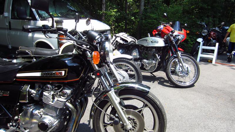 Richard Webb's birthday party, 05/27/12. Attendee parking.