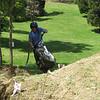 Darryl wheelies going uphill on the anthill