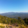 03/10/14 - The view from Morton Bluff, Chilhowee Mountain, looking towards GSM NP.