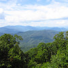 I need a tripod. The view at Joyce Kilmer Wilderness.