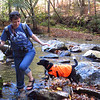 "Kenda says, ""Careful!"" Slickrock Creek Trail, 10/24/11"