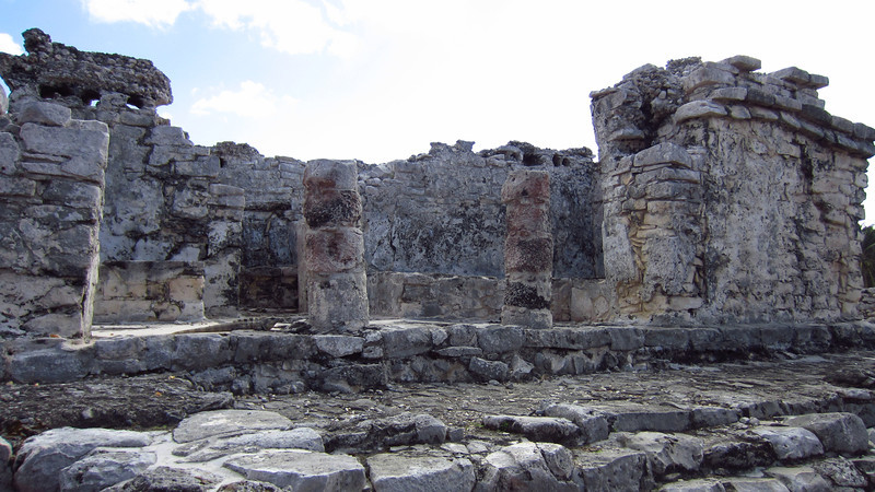 Cruise 2012: Ruins of a Mayan temple at Tulum, MX