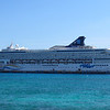 Cruise 2012: the Norwegian Spirit at Costa Maya.