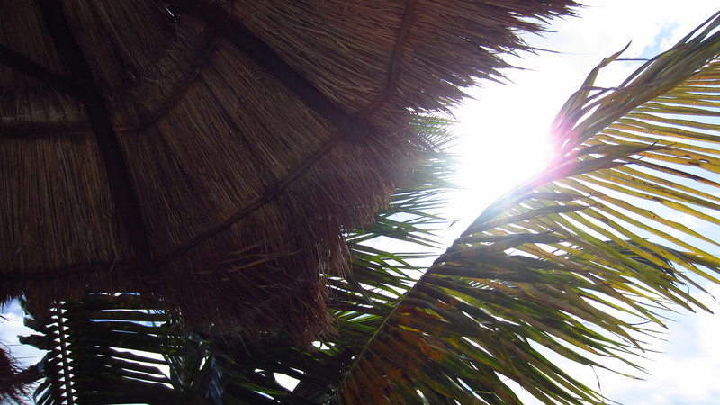 Cruise 2012: the view from my lounge chair, Costa Maya, MX