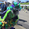 Knoxville's Mardi Growl Parade, 03/03/12. I'm not sure who this is, but s/he is definitely in the spirit!