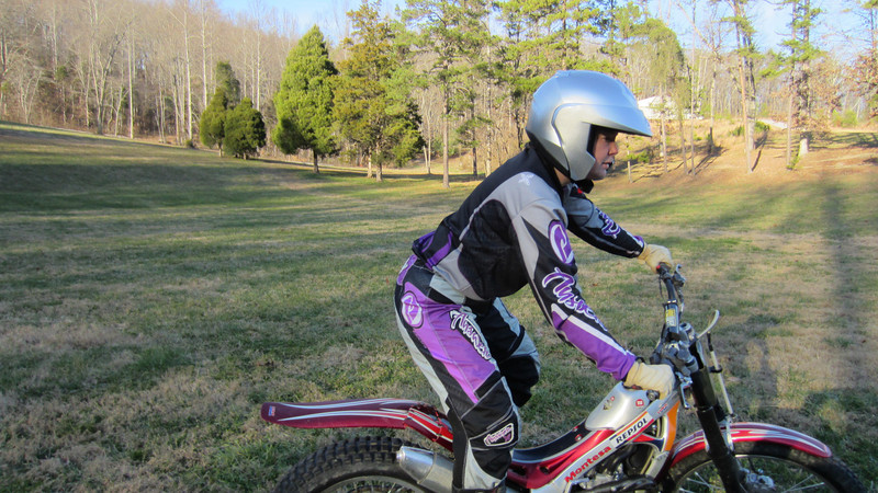 12/18/11: My first day on a trials bike - big thanks to Ross, Kenny, Trent and Joe!