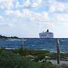 Cruise 2012: the Norwegian Spirit docked at Costa Maya, MX