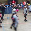 Derby action in Fort Wayne. Toronto beat the Fort Wayne team!