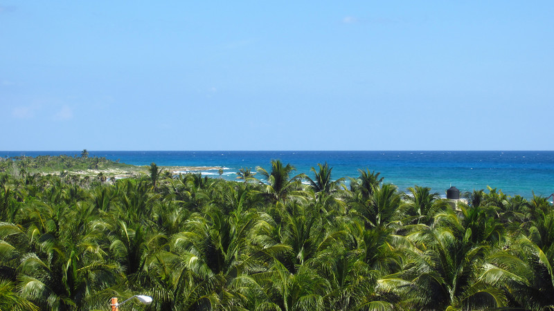 Cruise 2012: there isn't much in Costa Maya, which is part of its appeal.