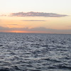 Cruise 2012: The sun sets over the Caribbean near Belize