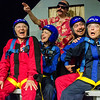 Anne Oberbroeckling, Lindsey Pierce, Josh Hartwell, Billie McBride, and Kevin Lowry in Ripcord (Photography: Michael Ensminger)