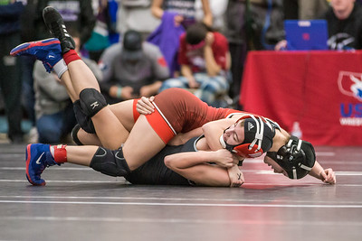 WWF Women's HS Folkstyle State, 2019