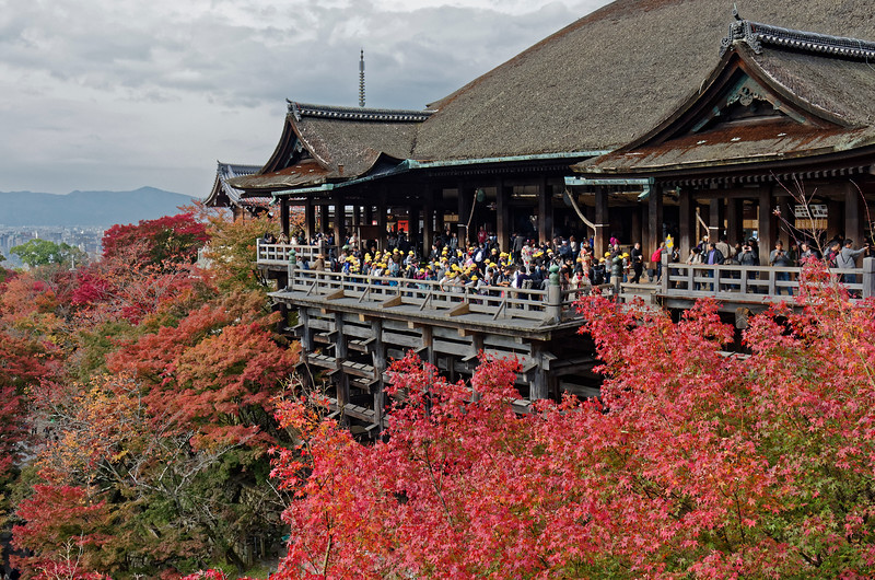 The stage was originally intended to be a setting for traditional performances dedicated to Kannon, such as ceremonial court music, Noh drama, Kabuki, and other performing arts, for which it is still used on special occasions today.