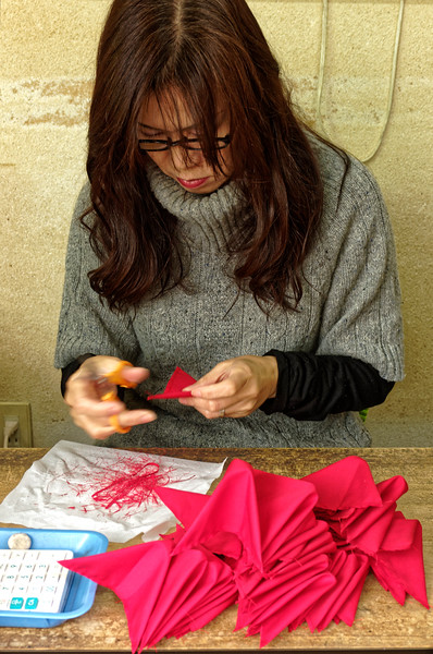 This woman was making new 'monkeys.'