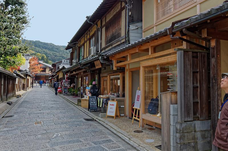 Along the way to Kiyomizu-dera temple