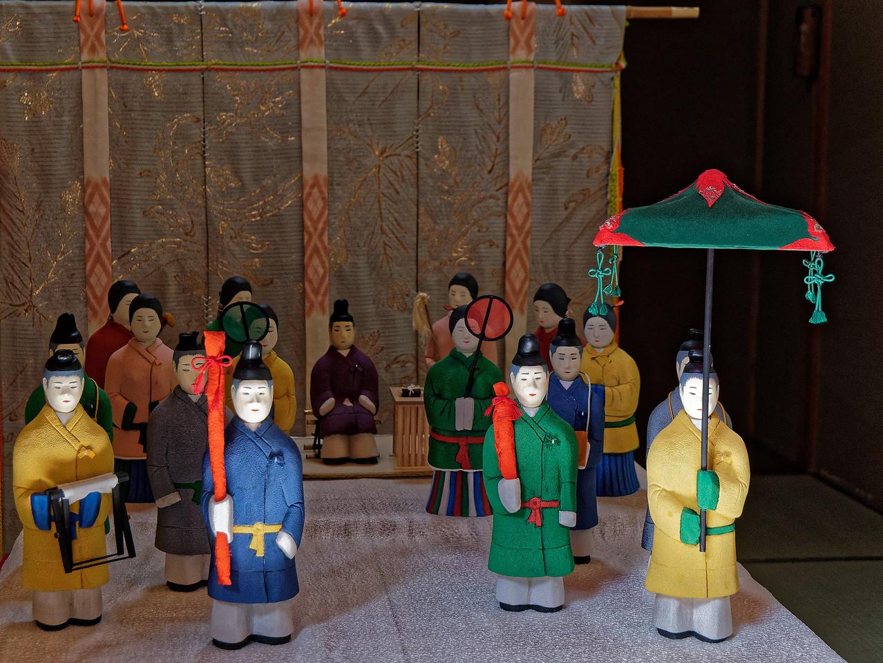 A miniature shrine within the shrine