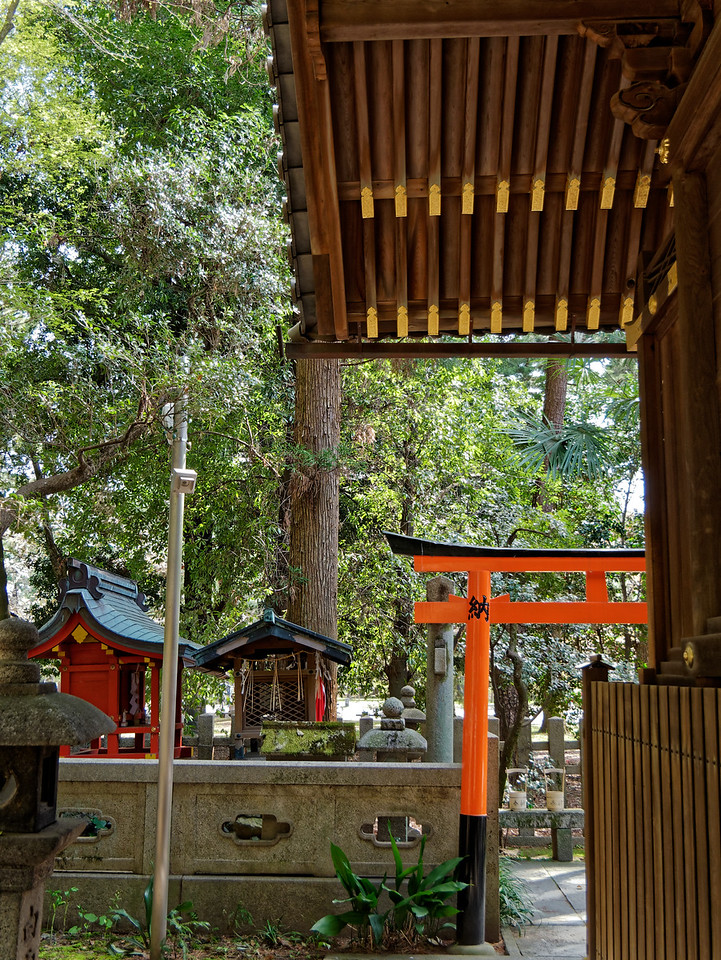 Another view from within the shrine